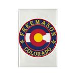 Colorado Masons Rectangle Magnet (100 pack)