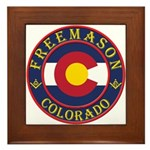 Colorado Masons Framed Tile