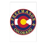 Colorado Masons Postcards (Package of 8)