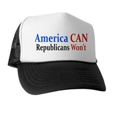 America Can Trucker Hat