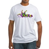Mardi Gras Hat & Beads Shirt