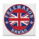 Hawaii Masons Tile Coaster