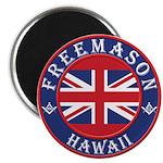Hawaii Masons Magnet