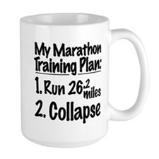 My Marathon Training Plan Mug