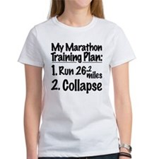 My Marathon Training Plan Tee