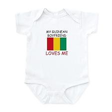 My Guinean Boyfriend Loves Me Infant Bodysuit
