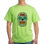 Sugar Skull Green T-Shirt