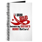 I Wear Red Sister Heart Disease Journal
