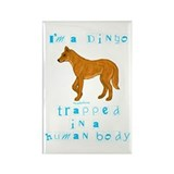 I'm a Dingo Rectangle Magnet (10 pack)