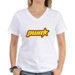 Pwn Star Women's V-Neck T-Shirt