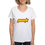 Pwn Star Women's V-Neck T-Shirt