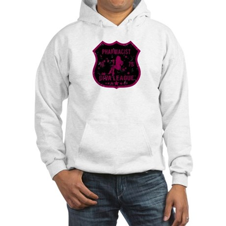 Pharmacist Diva League Hooded Sweatshirt