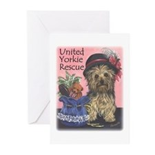 United Yorkie Rescue Greeting Cards (Pk of 20)