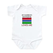 My Gambian Boyfriend Loves Me Infant Bodysuit