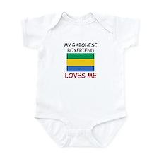 My Gabonese Boyfriend Loves Me Infant Bodysuit