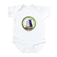 Scottish Terrier Crest Infant Bodysuit
