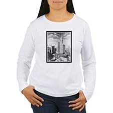 Vintage 1939 New York Photograph T-Shirt