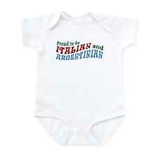 Proud Italian and Argentinian Infant Bodysuit