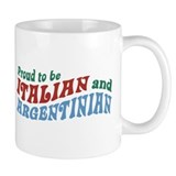 Proud Italian and Argentinian Small Mug