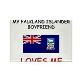 My Falkland Islander Boyfriend Loves Me Rectangle