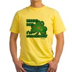 Kiss Me... I'm Drunkish! Yellow T-Shirt