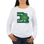 Kiss Me... I'm Drunkish! Women's Long Sleeve T-Shi