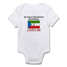 My Equatoguinean Boyfriend Loves Me Infant Bodysui