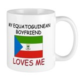 My Equatoguinean Boyfriend Loves Me Mug