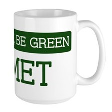 Green HEMET Large Mug