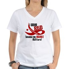 I Wear Red For Me Heart Disease Shirt Shirt