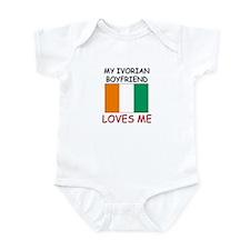 My Ivorian Boyfriend Loves Me Infant Bodysuit