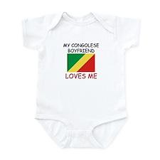 My Congolese Boyfriend Loves Me Infant Bodysuit