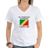My Congolese Boyfriend Loves Me Shirt