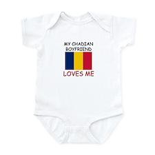 My Chadian Boyfriend Loves Me Infant Bodysuit