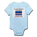 My Cape Verdean Boyfriend Loves Me Infant Bodysuit