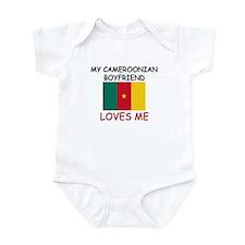 My Cameroonian Boyfriend Loves Me Infant Bodysuit