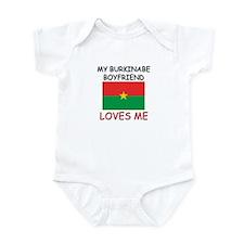 My Burkinabe Boyfriend Loves Me Infant Bodysuit