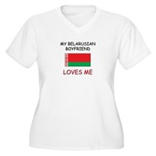 My Belarusian Boyfriend Loves Me T-Shirt