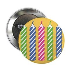"Birthday Candles 2.25"" Button"
