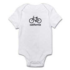 Bike California Infant Bodysuit