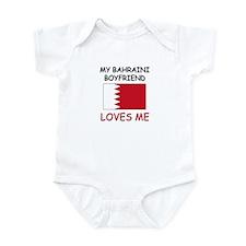 My Bahraini Boyfriend Loves Me Infant Bodysuit