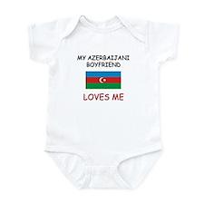 My Azerbaijani Boyfriend Loves Me Infant Bodysuit