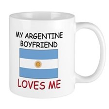 My Argentine Boyfriend Loves Me Mug