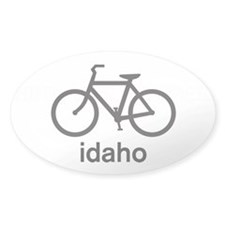 Bike Idaho Oval Decal