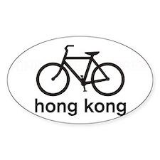 Bike Hong Kong Oval Decal