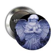 Christmas Angel Button