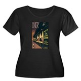 Train Women's Plus Size Scoop Neck Dark T-Shirt