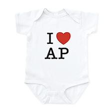 I Heart AP Infant Bodysuit
