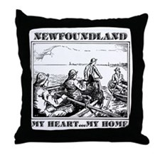 My Heart...My Home Throw Pillow
