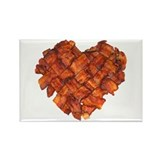Bacon Heart - Rectangle Magnet